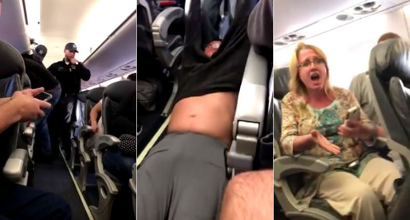 Resultado de imagen de man dragged off flight