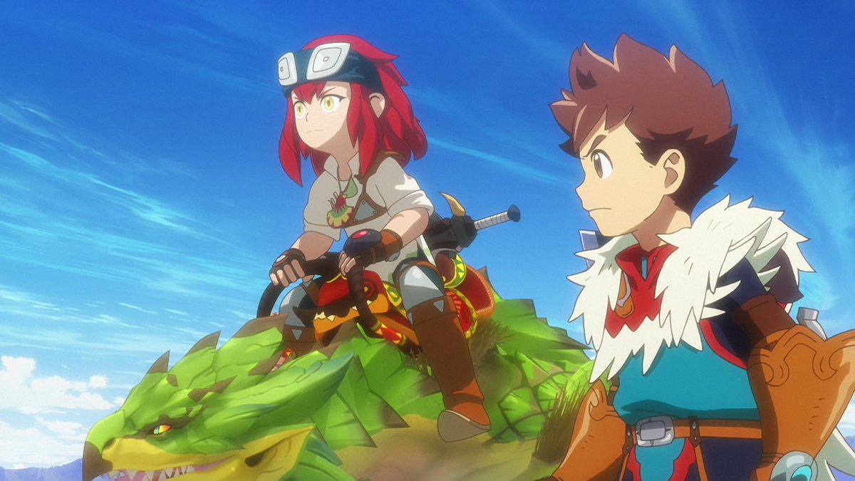 Funimation On Twitter Monster Hunter Stories Ride On Has A New