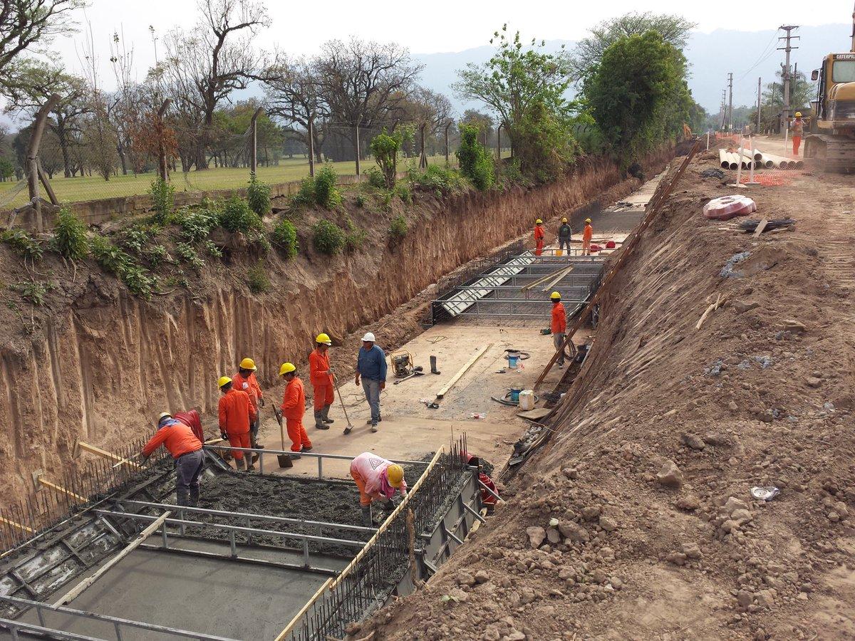Resultado de imagen para colector pluvial Solano Vera – San Luis, en la provincia de Tucumán.