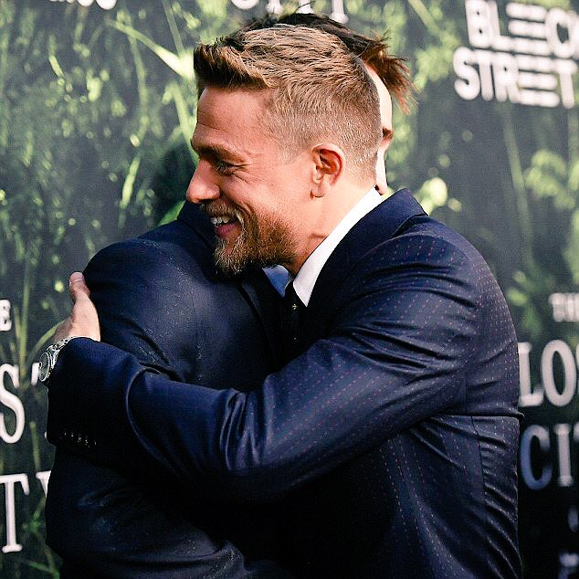 Happy Birthday to Roberts co-star and real life pal, Charlie Hunnam!