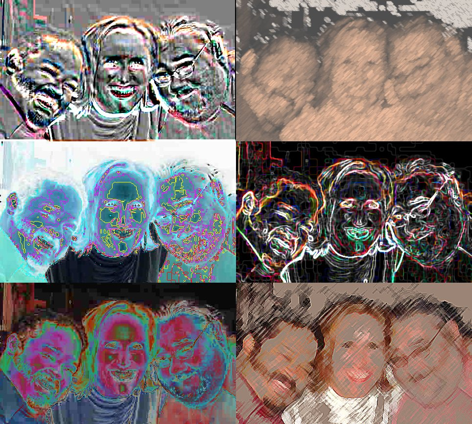 Collage of images copyright © 2018 Janet Kuypers