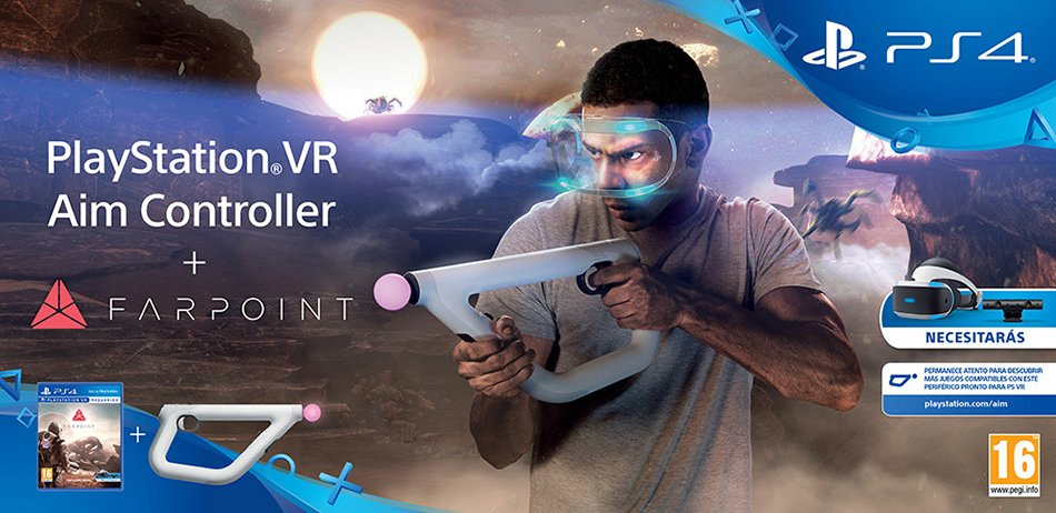 Farpoint y PlayStation VR Aim Controller
