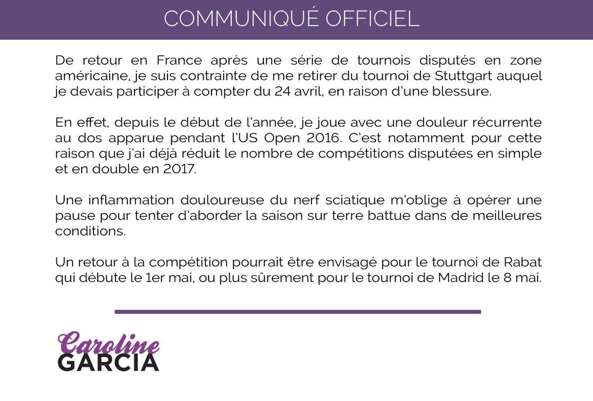 WTA STUTTGART 2017 C9E8YCnWsAAAMlm