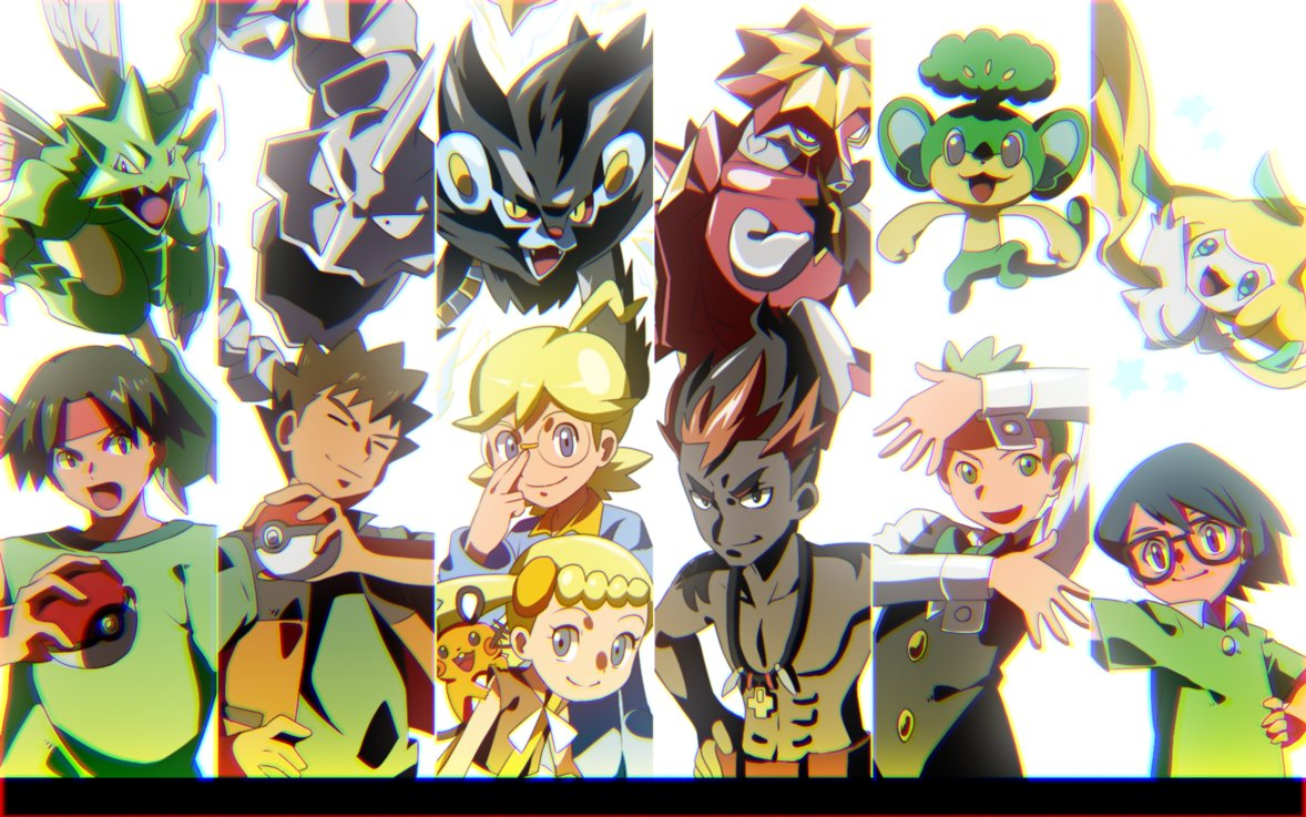Pokemon Art On Twitter Always There To Support Him Ash S Traveling Companions By Matsu Jun Https T Co Iv20fz11wi Pokemon Pokemonart Https T Co Rz7e5b4adv
