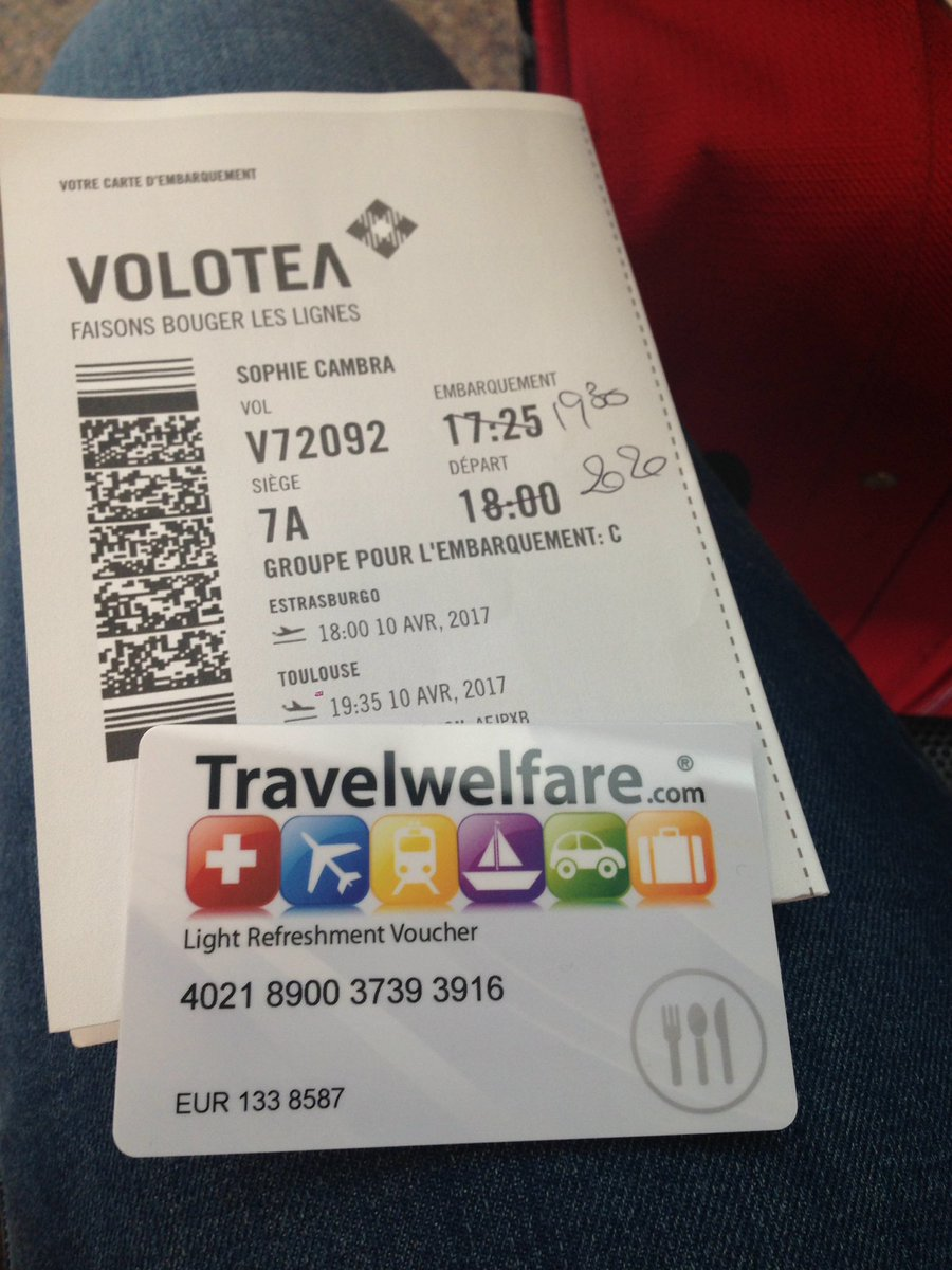 volotea carte d embarquement Sophie Cambra on Twitter: