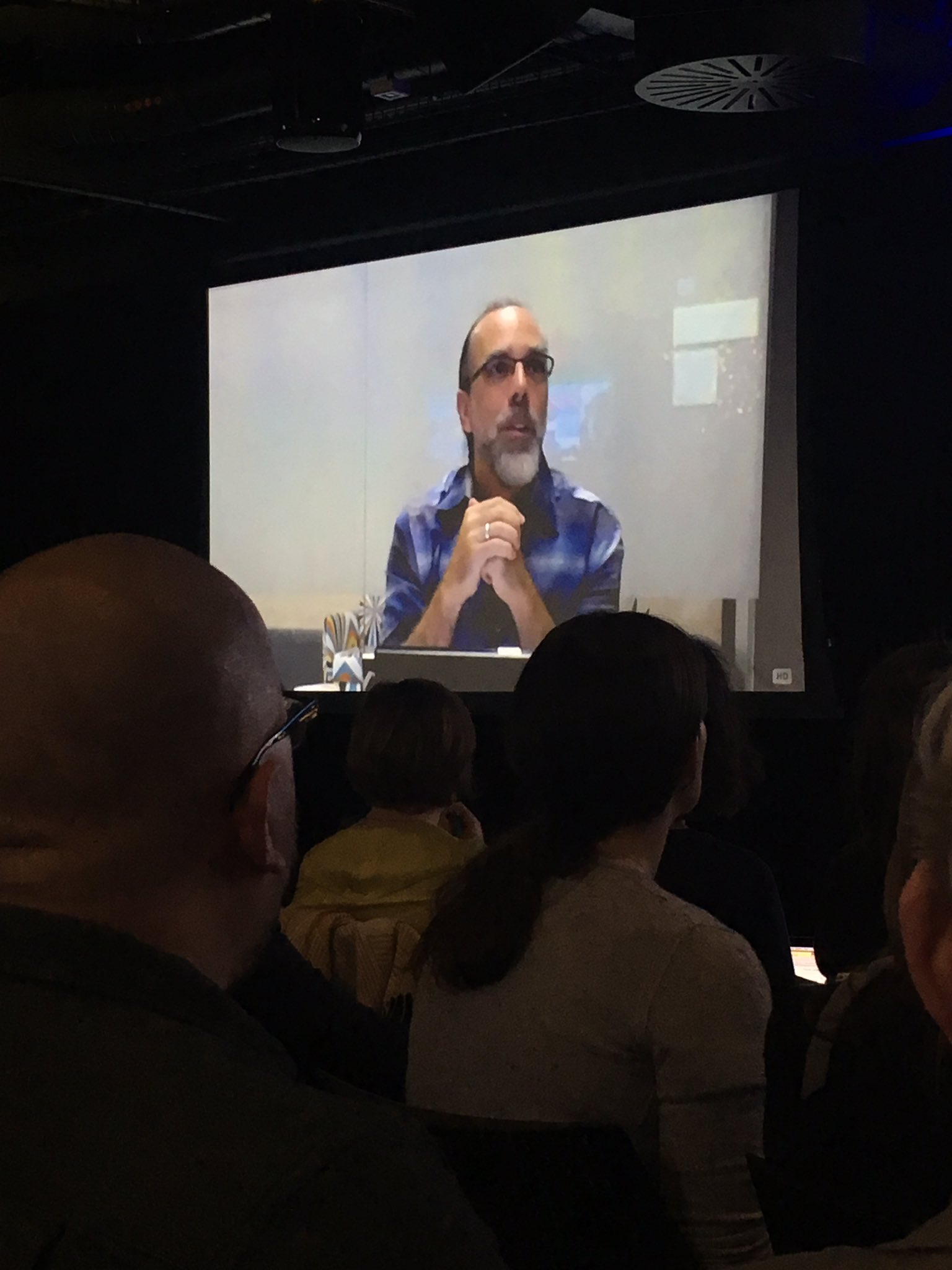 """.@astroteller """"don't let the world tell you you can't be creative & save the world fast"""" eg #ev #haberbosch #ClimateAction #2020dontbelate https://t.co/kyorOrLOMQ"""