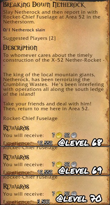 Leveling: Remove old EXP Cliffs - World of Warcraft Forums