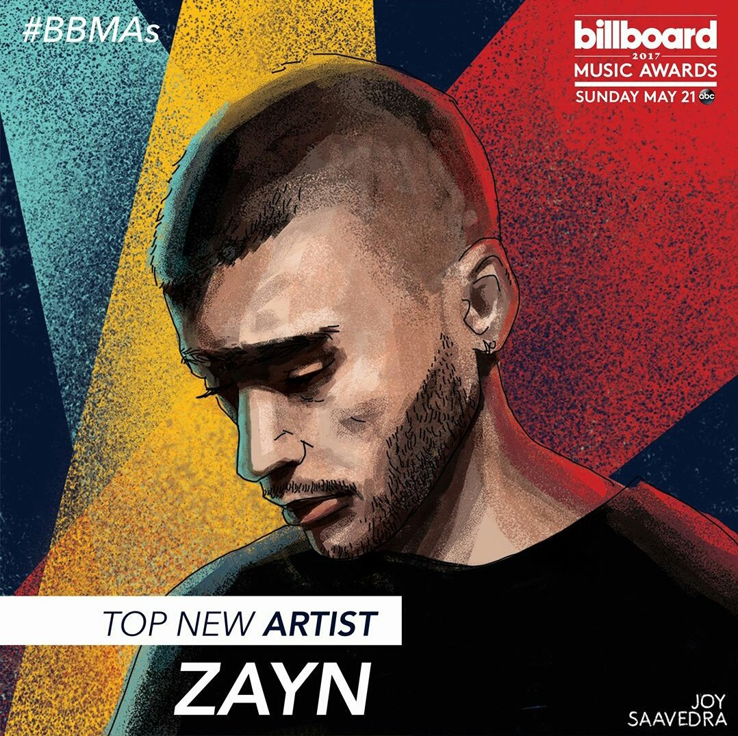 💥 UPDATE 💥 @ZaynMalik is nominated for Top New Artist at this year's @BBMAs! #BBMAs