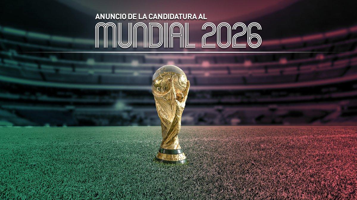Histórico, anuncian México, EU y Canadá candidatura para Mundial 2026