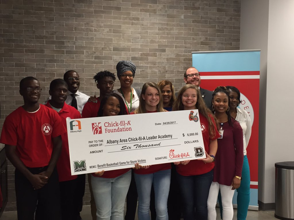 chickfila of albany cfaalbanylee twitter fox 31 wfxl tv dcss public info chickfila of albany and cfaleaderacademy
