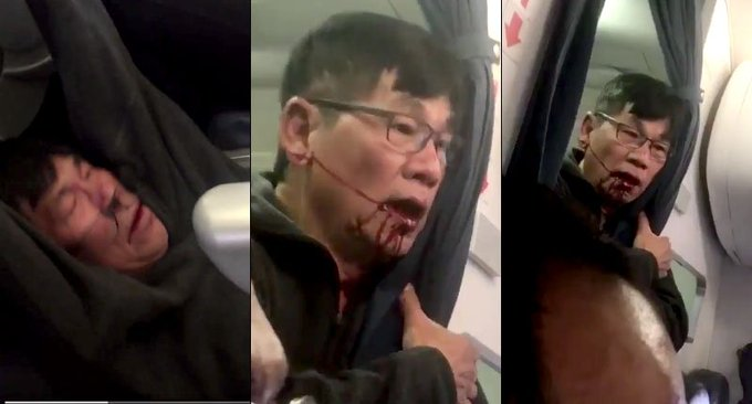 'Just kill me': Disturbing new video shows removed United passenger with his face covered in blood https://t.co/H8T833Huwr
