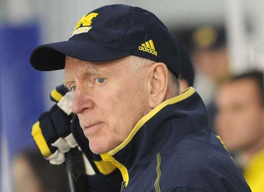 BIG10: Legendary Michigan Hockey Coach Red Berenson Retires (video)