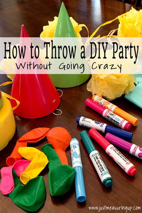 How to Throw a DIY Party or Event (Without Going Crazy)
