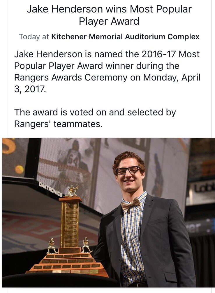 Congrats to @Benderson10 on being a swell guy! #attaboy #onceaflyeralwaysaflyer