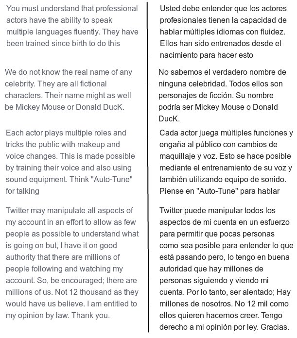 "Randy Nobody on Twitter: ""#Please #forgive my #Spanish! / Por favor,  #perdone mi #español!… """