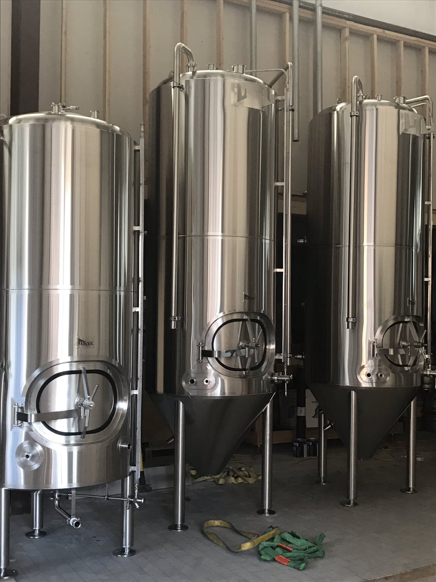 Rickety Cricket Brewing On Twitter Brewery Install Day