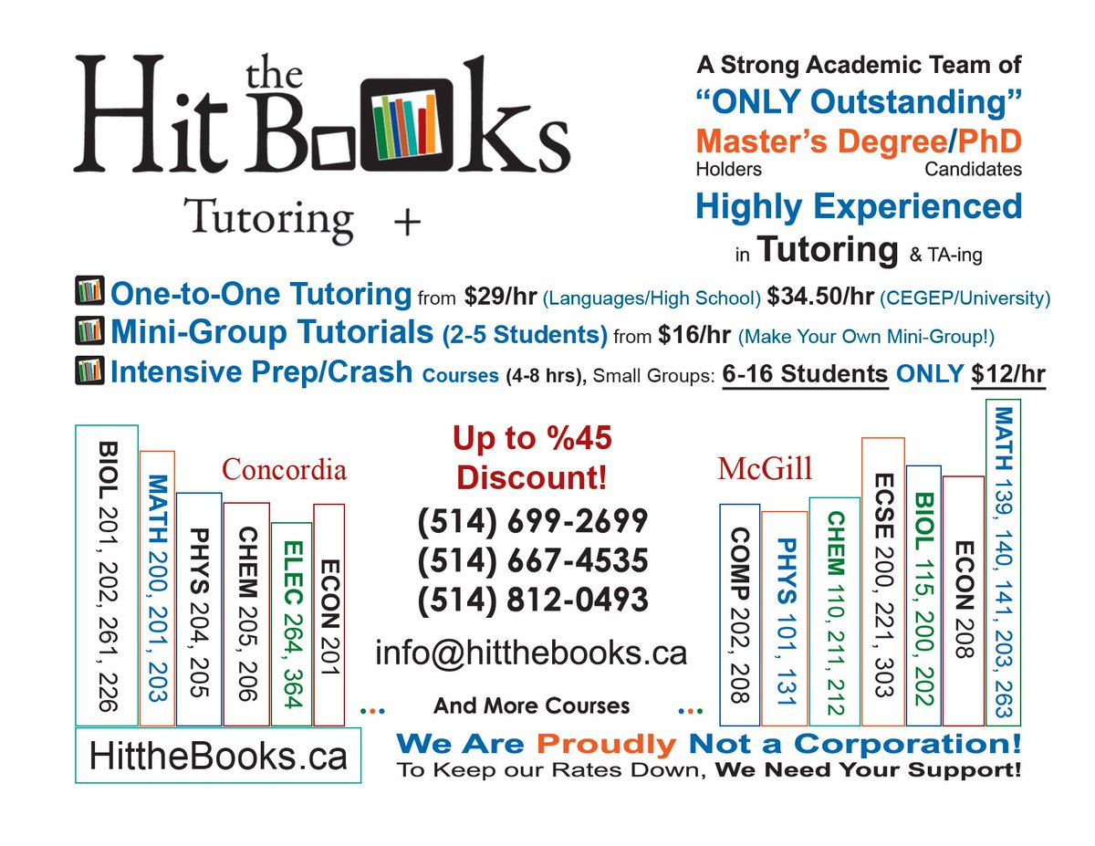 Hit the Books Tutors (@HittheBooks) | Twitter