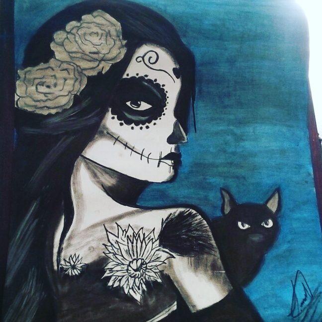Meny Santillán On Twitter Catrina Sketch Catrina Draw