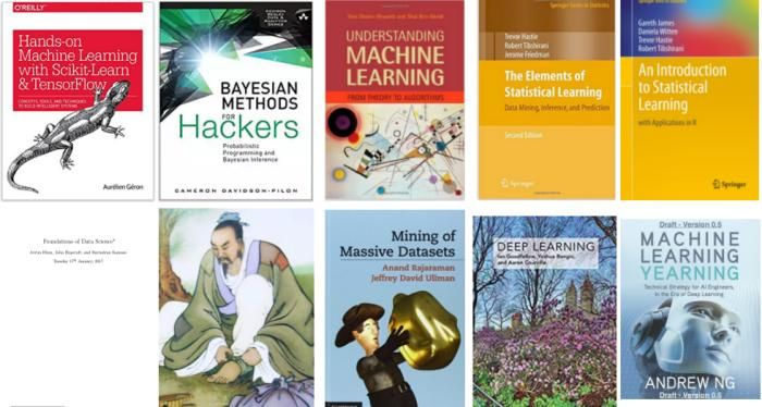10 Free Must-Read Books for #MachineLearning and #DataScience