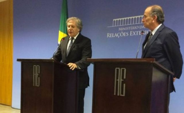 "Foreign minister of Brazil  demand a ""legitimate Government"" to Venezuela"