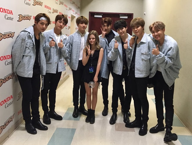 Exclusive Fan Guide: @KylieAnneRogers tells us what it's really like to meet @BTS_twt !  >> https://t.co/WxEHMUKYDE