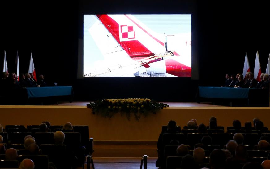 The plane that crashed and killed Poland's president and 95 others in 2010 probably disintegrated in mid-air when explosives were detonated on board, a Polish government commission said on Monday - a theory that a member of a previous commission dismissed as propaganda.