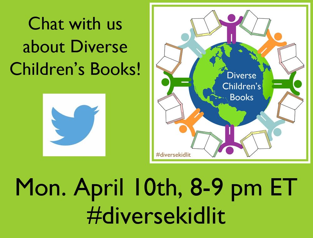 Please welcome & follow the #diversekidlit hosts: @GatheringBooks @Toddler_Diaries @KitaabWorld @RebeccFlansburg & sponsor @ShopBeckers 2/2 https://t.co/2lBQcF5nab
