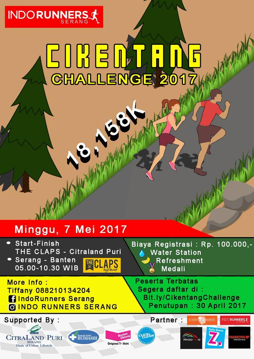 Cikentang Challenge • 2017