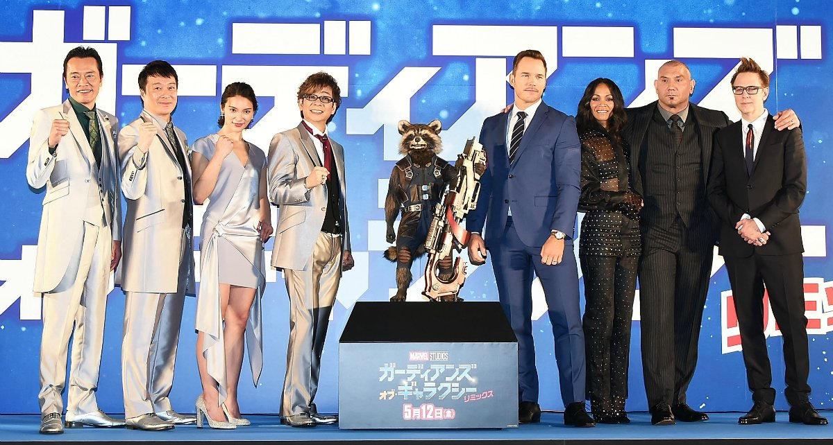 8 weird and wonderful things that happened at the 'Guardians of the Galaxy Vol. 2' premiere 😱😍🙌😭 https://t.co/uYaE9eNmQk https://t.co/I5tqn8Mysh