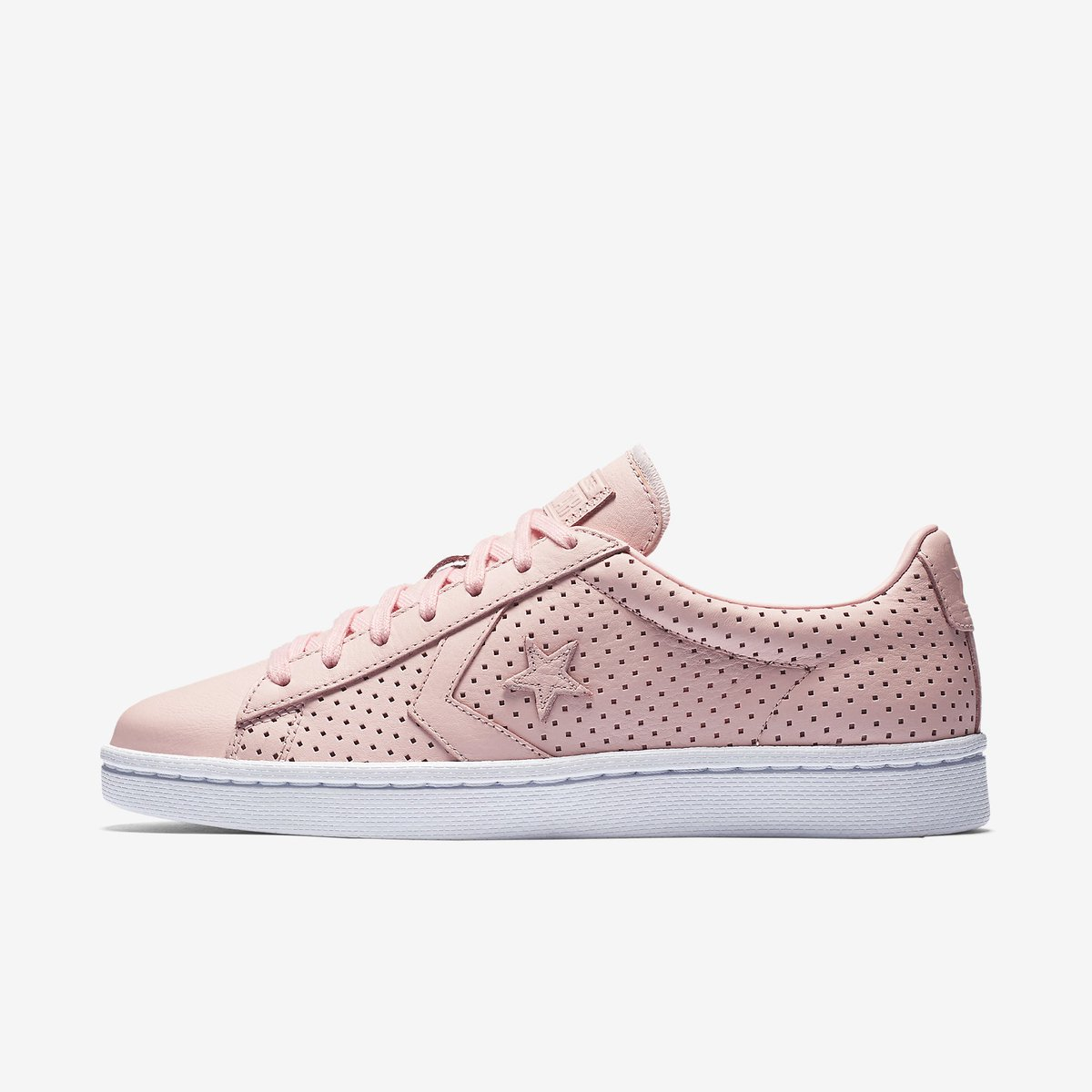 a0d9f483fb7f converse pro leather botanical gardens pink porpoise