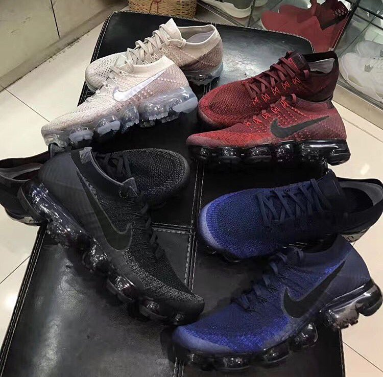 c098884e07 Upcoming Nike Air VaporMax colorways for the  summerpic.twitter.com/3DuMuV2fJO