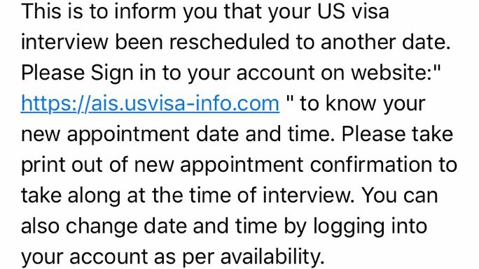 The us consulate in dubai cancels upcoming visa appointments