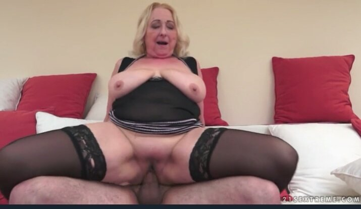 72 year old grandma craves big black cock 7