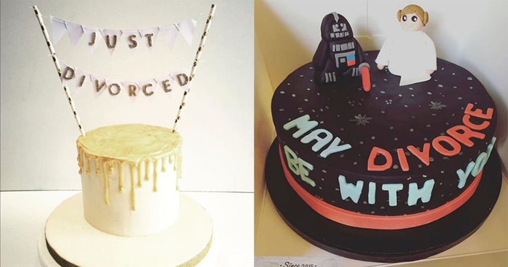 Divorce cakes are now a trend, apparently: https://t.co/WGcJS0KOwA https://t.co/Zm6fpUqT8b