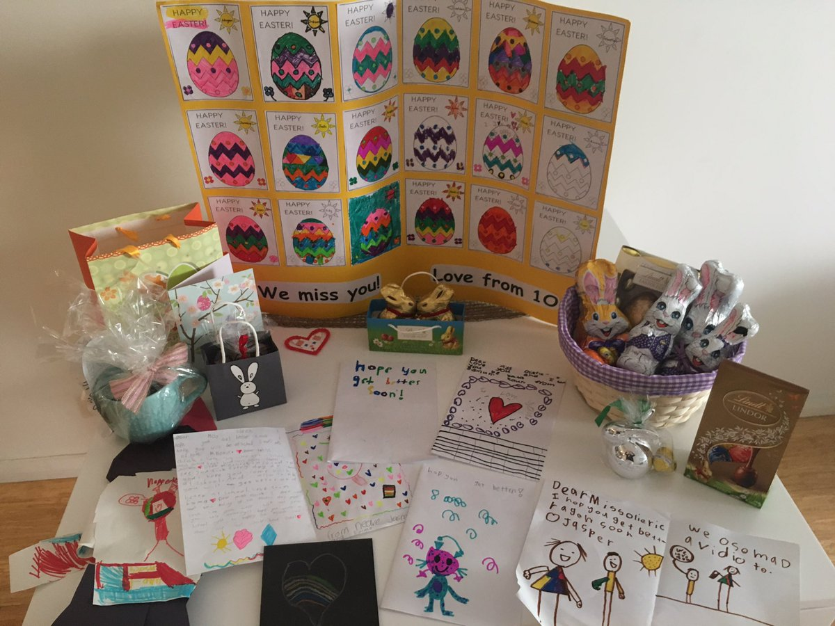 Andrea olieric on twitter thank you 1 o students parents for andrea olieric on twitter thank you 1 o students parents for the beautiful cards easter gifts im one very lucky teacher see you in term 2 negle Images