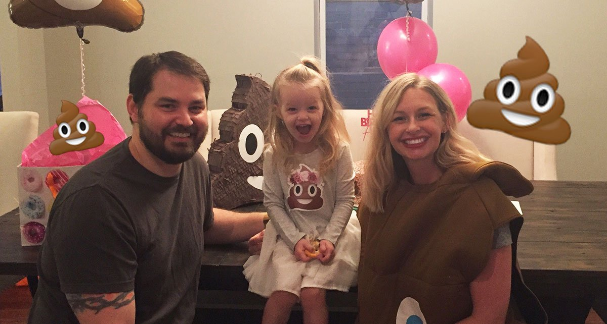 LOL: 3-year-old refused to have a bday party unless it was poop-themed 💩❤️ https://t.co/RbdNGXsv8s https://t.co/Tka5PSHFn6