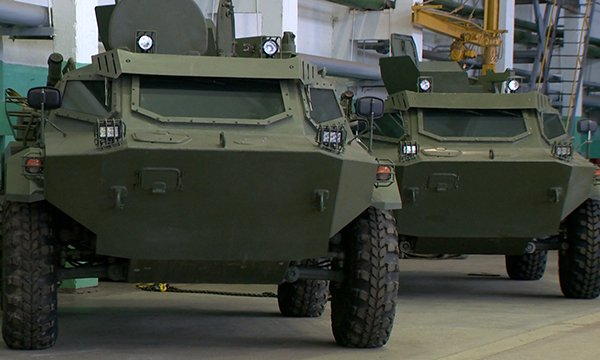 Belarus to unveil new family of wheeled armored vehicles at MILEX-2017