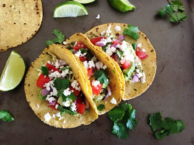 Grilled Chile Chicken Tacos @
