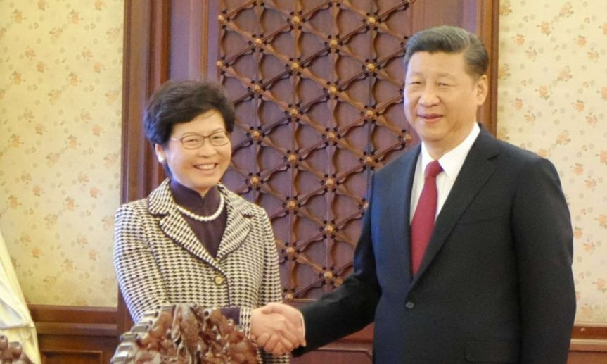 Xi Jinping gives backing to Carrie Lam as Hong Kong's next chief executive