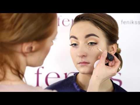 Свадебный макияж собственноручно видео