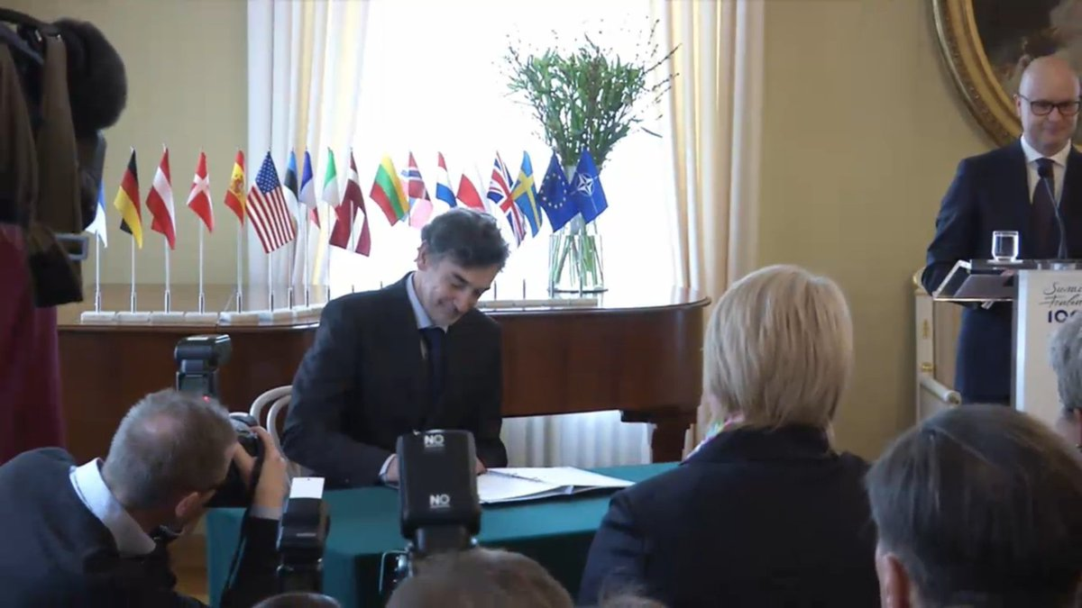 In Helsinki signed a Memorandum on creation of the Center for counteraction to hybrid threats
