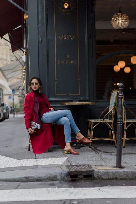 Red Monochrome in Le Marais