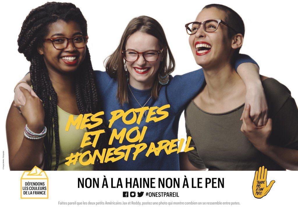 Présidentielle: SOS Racisme part en campagne face au FN pour éviter un 21 avril «en pire» #OnEstPareil   https://t.co/tjdmYP5JCD https://t.co/NYEw5t1eiK