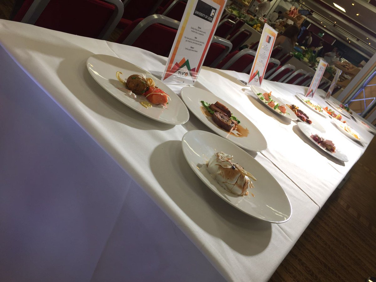 DPS Tableware on Twitter \ Fantastic day #tucocomps @TUCOltd #Chefschallenge Stunning presentation on our Porland Academy Coupes! & DPS Tableware on Twitter: \