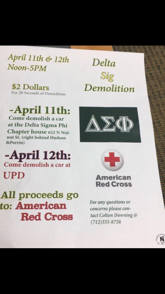 Come out and support @DeltaSigmaPhiHQ @Ctown_Down They are also sharing safe driving info.  Noon - 5pm. https://t.co/PlrTDBvTX9