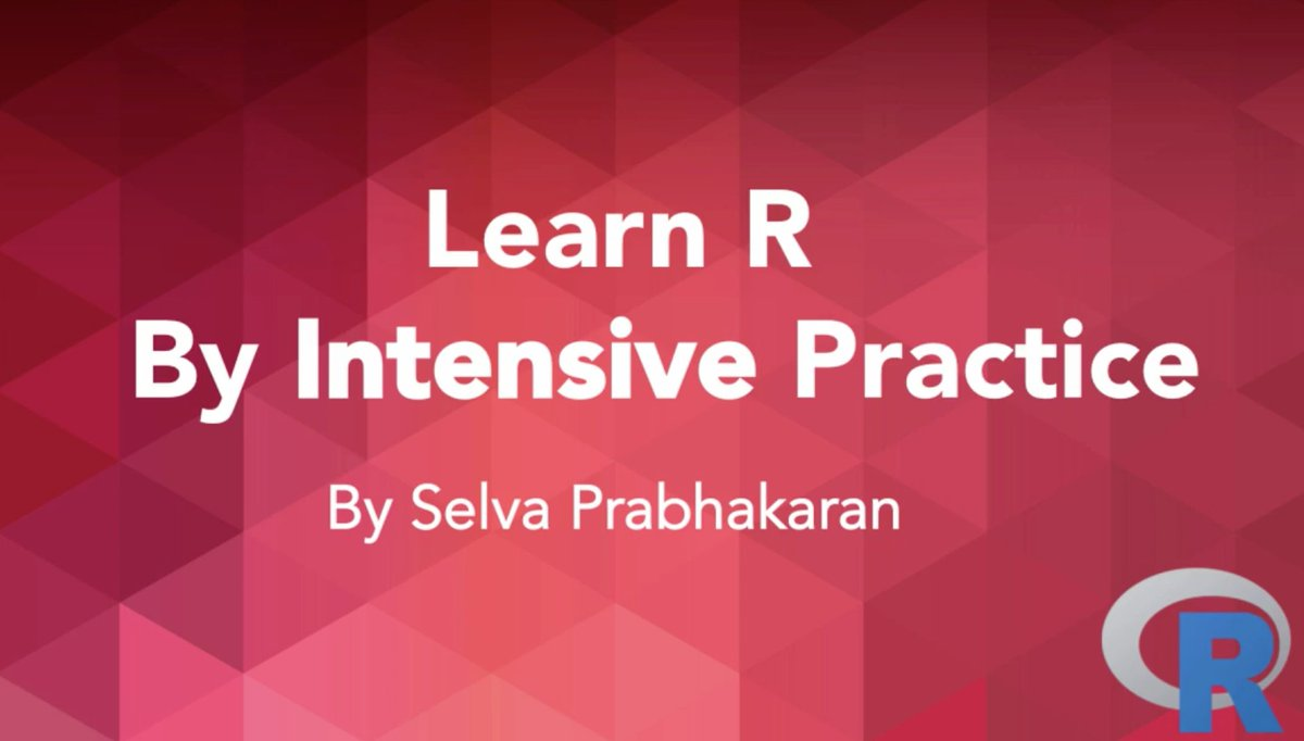"""R Tips on Twitter: """"New Grand Test added to 'Learn R By Intensive Practice' video course #rstats https://t.co/EnYl4gw02E https://t.co/CSo3aYo59I"""""""