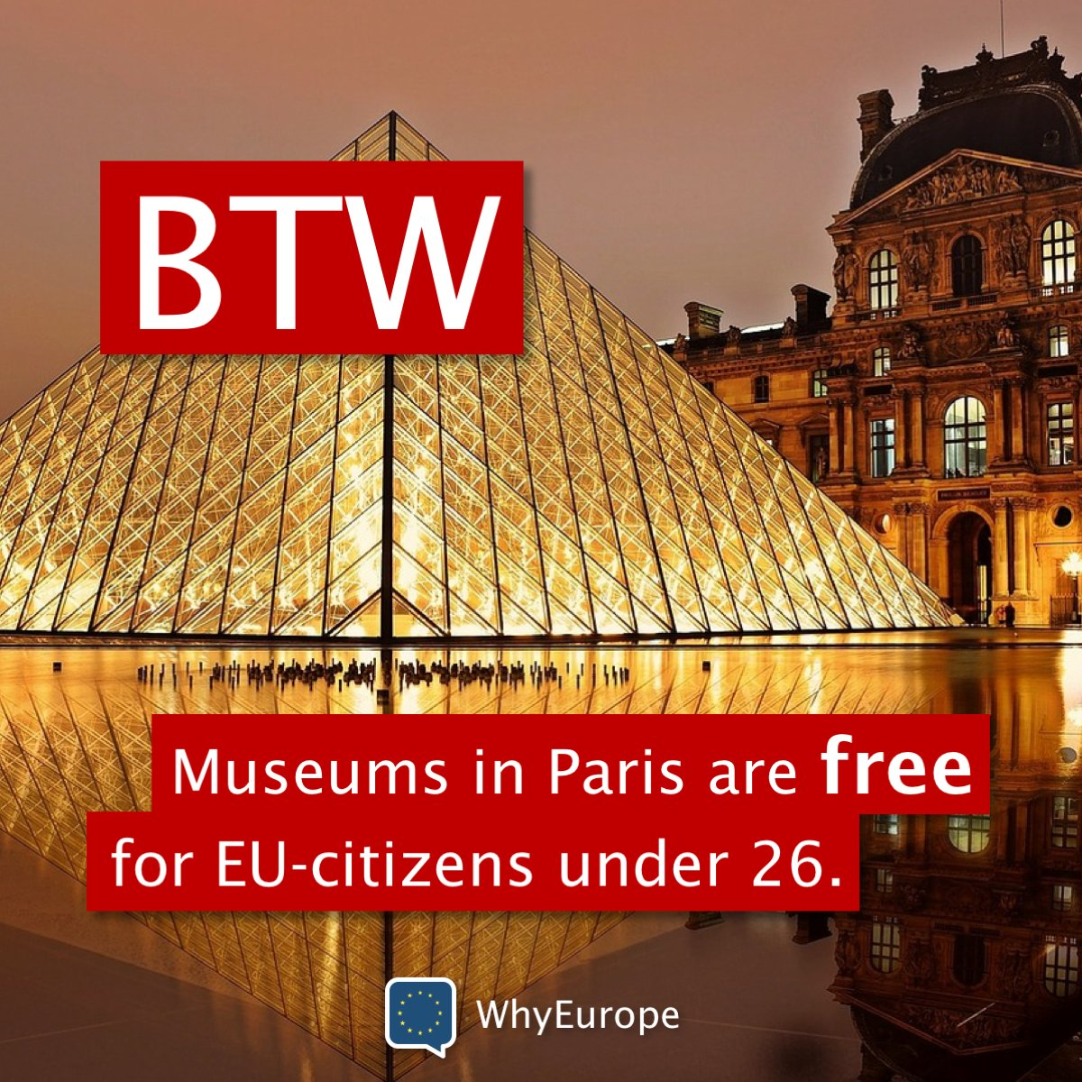 free museums in paris for under 26