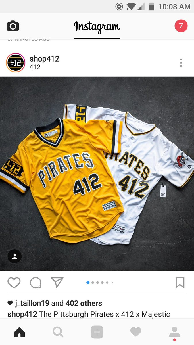 Shop412 and  Pirates collaborating has to be the best thing ever.   412xPirates pic.twitter.com bkkoWT9QDe 26b3c6a2d