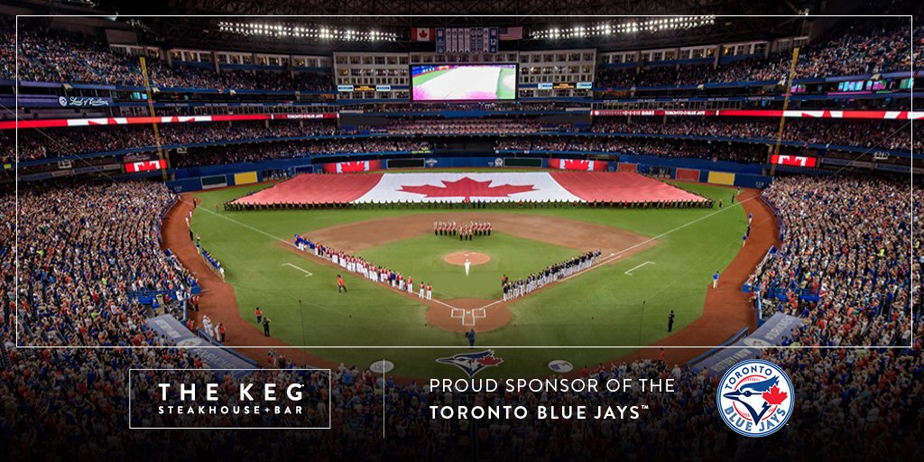 Twitter post: The wait is over. The @BlueJays are back…Read more. Opens full post in an overlay