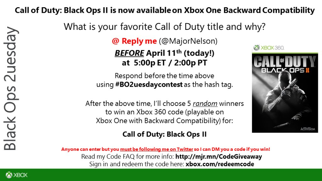 Larry Hryb On Twitter Bo2uesdaycontest Time Read This You